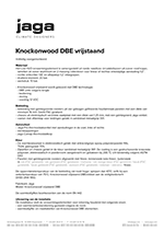 Product description Knockonwood Freestanding DBE