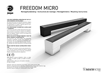 Anleitung Freedom Micro