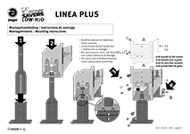 Instruktion Linea Plus fødder